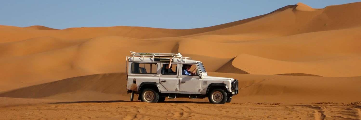 Franchir les dunes au Maroc avec un 4X4